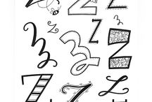 Alfabet/lettering