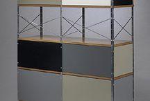 Storage Design / Eclectic storage design consisting of: shelving, draws, side draws, desks & draws, sofas & draws, cabinets.....