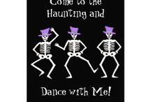 Halloween Party / Invitations and more for a fun Halloween party, greeting or celebration.
