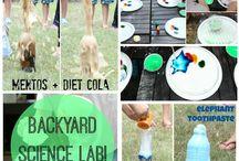 Backyard science / by Tanya Lamb