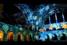 Debreceni Egyetem Gólyabál 2015 Night Projection fényfestés / Debreceni Egyetem / University of Debrecen Gólyabál 2015 - Night Projection fényfestés