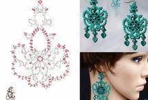 Frivolite patrones joyas