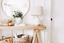 Console/bookcase styling