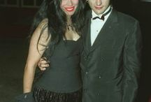 Dave Vanian with his wife Patricia Morrison