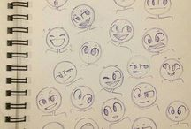 Animation faces