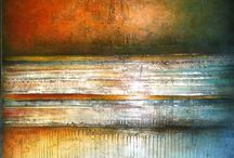 P&H likes abstracts / painted by Jacqueline Cockrill (Bott) http://www.jackiebott.com