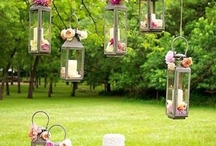 Lantern Arrangements Ideas