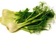 Fd V Bulbs & Stems / Onions Celery fennel leeks Garlic Kohlrabi Asparagus / by Mundo Garcia