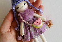 Miniature handmade Dolls