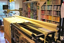 Long Arm Quilting Space