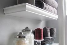 Barthroom shelves
