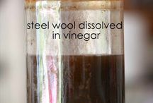 Crafts--inside--Wood--stain