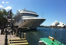 Cruise Liners / Cruise ships in Sydney Harbour