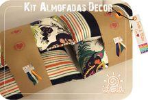 Ateliê !DEiA Criações - Almofadas Decor