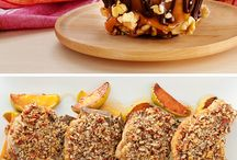 Apple Recipes / Use your fresh Apples and add Fisher nuts for the perfect match.