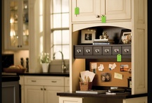 Kitchen Desk Area / by Misty Molloy