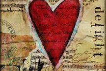 HEARTS / I love the shape of hearts...