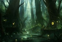 green elf forest