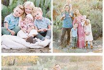 Kleidung für Familienfotos