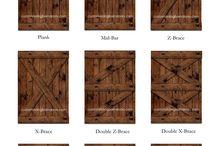 Custom Barn Door Designs & Ideas
