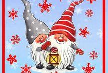 vianočné obrázky -kreslené