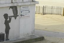 Les oeuvres de Banksy à Calais