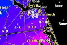 Virginia Beach Snowmageddon 2014 / Crazy weather in Virginia Beach / by Brent Montella