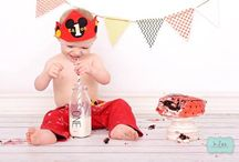 Photography / Cute photos of children with paper straws that are eco-friendly and customizable