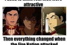 Avatar the Legend of Aang - the Legend of Korra