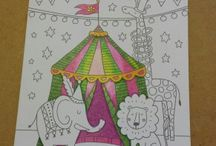 Calypso Coloring Cards / Introducing Calypso Coloring Cards!  See examples of finished cards here.  / by Calypso Cards