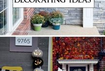 DIY Halloween Crafts / Don't break the bank to decorate your home for Halloween! Repurpose new and used Goodwill items to get the spooky atmosphere you're trying to achieve!