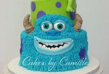 cumpleaños monsters inc