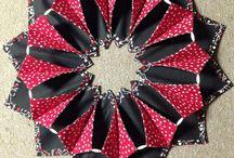 sew Fold n stitch wreath
