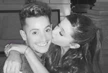 Ariana and brother franki