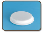 Cylindrical Bumpers / Our Cylindrical Bumpers are circular with flat tops. Design utilizes a flat contact area for varied applications; recessed cavity for anti-skid applications.