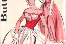 Años 50 - fashion plate / by Signorina Luján