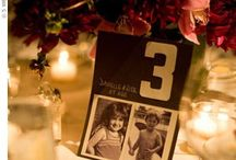 Table numbers and seating plans / by Susi Liddington Creative