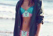 Bikini, beach, colorful life from dreams