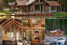 logs building