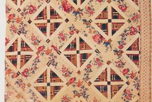 Historical Quilts - Inspiration / These antique quilts are so inspiring - I love modern crafts, but even more, I love to modernize antique craft. Sometimes their ideas and styles are so exciting and modern, I can hardly stop myself just diving in and recreating them!