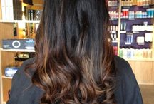 Black/brown/ombre hair