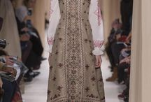 Valentino Couture весна-лето 2015-миром правит любовь.Славянская вышивка / женская моды,вышивка,тенденции моды, 2015
