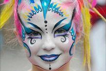 maquillage cirque