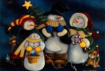 SNOWMEN / Frosty the snowman is a