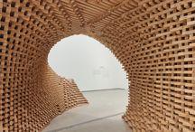 Timber sculptures