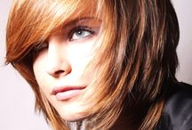 Haircuts/Hairstyles/Hair Colour / by Amy Millins