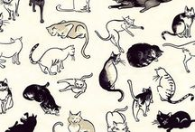Animal Kitsch prints / Work stuff
