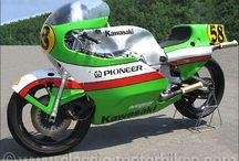Kawasaki Race Bikes