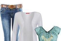 combinando roupas