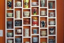Teacup display ideas